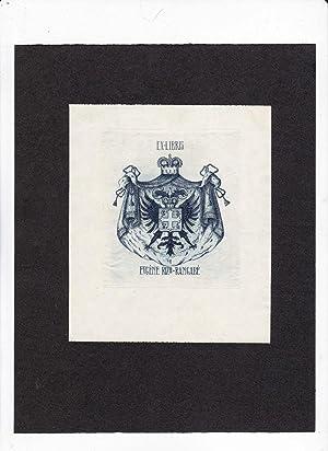 Quinze ex-libris par Louis de Maier (includes bookplates of Chateau de Garibondy, Alejandro de ...