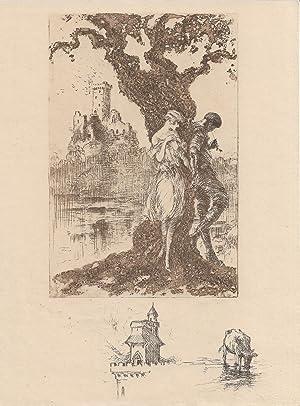 1225ab13757 Eaux-fortes originales et bois de Louis  Hermant