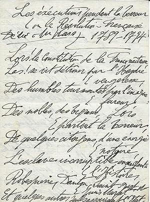 Les exécutions pendant la Terreur ou la: Maurice Utrillo (Georges
