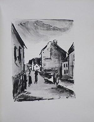 Mont-Cinere. Lithographies de Vlaminck.: Green, Julien (Vlaminck,