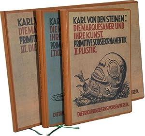 Die Marquesaner und ihre Kunst. Primitive Sudseeornamentik.: Von den Steinen,