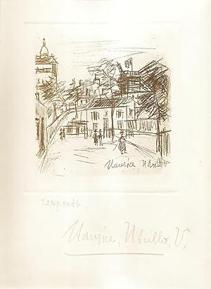 Amities de Montmartre. Poemes Inedits de Jean: Vertex, Jean (Maurice
