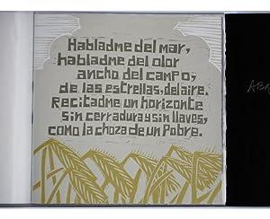 """Decidme cómo es un árbol"""" (Valeria Brancaforte, illustrator): Marcos Ana (..."""