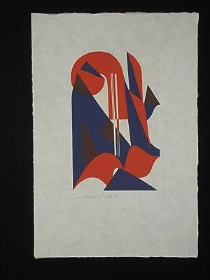 "Farbiges Konzert (""Color Concert"") (a suite of signed color woodcuts by Oskar Dalvit): ..."
