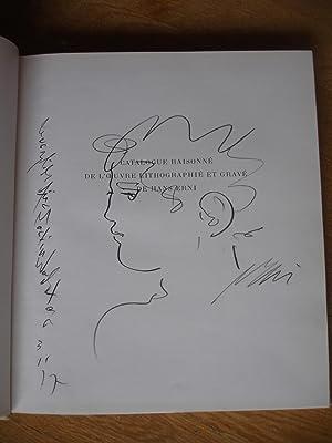 Catalogue raisonne de l'oeuvre lithographie et grave de Hans Erni. Tome premier: Lithographies...