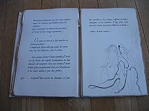 Poemes de Sapho, illustres de 23 eaux-fortes par Marie Laurencin (The Poems of Sappho): Sapho (...