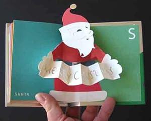 Christmas: A Pop-Up Stocking Stuffer (HANDSIGNED 1st printing): Robert Sabuda