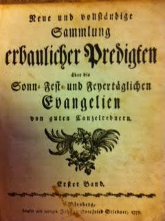 Neue und Vollständige Sammlung Erbaulicher Predigten über die Sonn-, Fest und Feyert&auml...