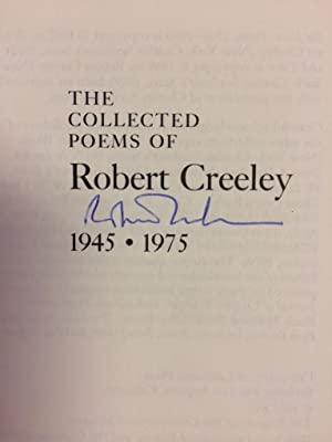 Collected Poems of Robert Creeley, 1945-1975: Creeley, Robert