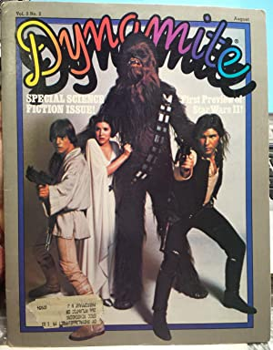 Dynamite. Vol. 3, No.2, August 1979 (Special Science Fiction Issue: First Preview of Star Wars II!)...