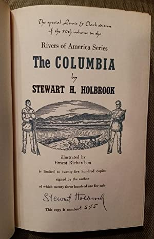 the COLUMBIA lewis & clark edition: holbrook,stewart