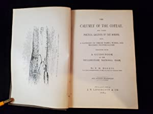 THE CALUMET OF THE COTEAU and other poetical legends of the border: NORRIS,P.W.