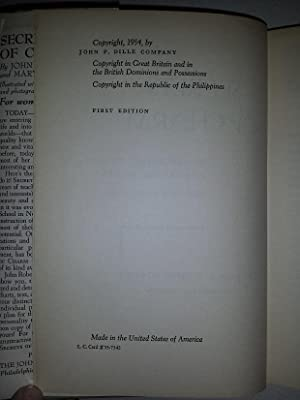 Secrets of Charm. 1st edition.: Powers, John Robert; Miller, Mary Sue