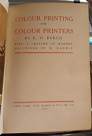 Colour Printing and Colour Printers: Burch, R. M.