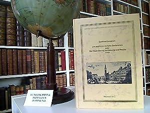 Jus publicum civitatis Gedanensis oder Der Stadt Danzig Verfassung und Rechte 1769. Nachdruck der ...