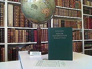 Novum testamentum Graece et Latine. textum Graecum: Nestle-Aland: