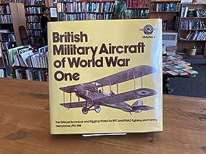 British Military Aircraft of World War One: Tanner, John (Ed.)