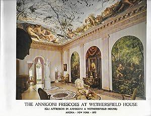 The Anigoni Frescoes at Wethersfield House, Amenia,: Stillman, Chauncey