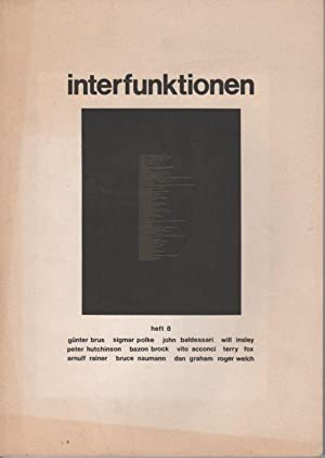 interfunktionen 8: Brus, Günter /