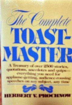 The Complete Toastmaster.