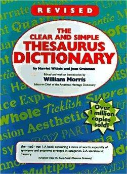 The Clear and Simple Thesaurus Dictionary.