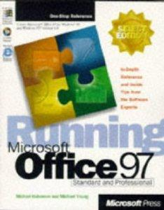 Running Microsoft Office 97.