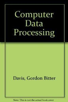 Computer Data Processing.