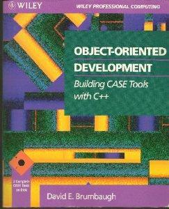 Object-Oriented Development: Building Case Tools With C++.