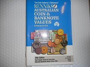 Renniks Australian Coin and Banknote Values: Pitt, Ian W.,