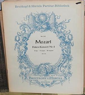 Floten-Konzert Nr. 2, D-dur, KV314 [Flute concerto, D major]: Mozart, Wolfgang Amadeus