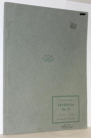 Sinfonia Nr. 79. Herausgegen von H.C. Robbins Landon, Partitur: Haydn, Joseph