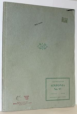 Sinfonia Nr. 97. Herausgegen von H.C. Robbins Landon, Partitur: Haydn, Joseph