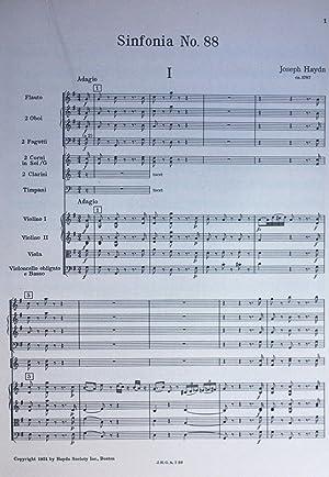 Gesamtausgabe: Complete Works; Serie 1, Band 10: Series 1, Volume 10; Symphonien: Symphonies No. 88...