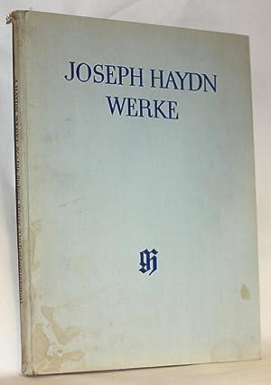 Werke: Works; Reihe 4, Die sieben letzten Worte unseres Erlosers am Kreuze, Orchesterfassung (1785)...