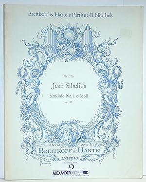 Sinfonie Nr. 1 e-moll, Op. 39: Sibelius, Jean