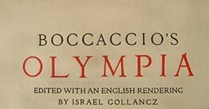 Boccaccio's Olympia: Boccaccio