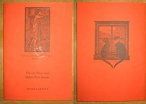 Catalogue Thirteen: Spring, 2003: Private Press and: Barnitt, Peter
