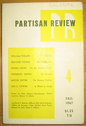 Partisan Review; 1967 Volume XXXIV, Number 4