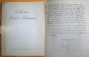 Collection Robert Schuman; Precieux Autographes composant la Collection du President Robert Schuman...