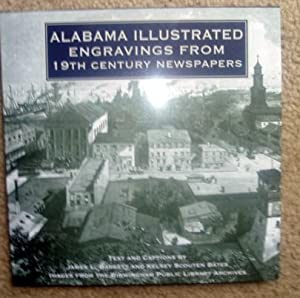Alabama Illustrated Engravings From 19th Century Newspapers: Baggett, James L. And Bates, Scouten