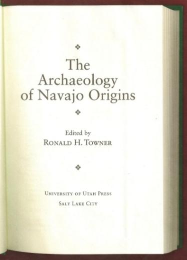 The archaeology of Navajo origins