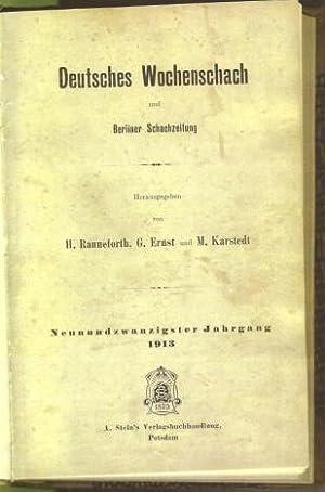 Deutsches Wochenschach und Berliner Schachzeitung: R