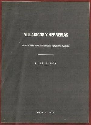 Exposicion Homenaje a Luis Siret 1860-1934/Villaricos y Herrerias Antiguedades Puncas, Romans,...