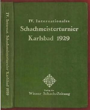 IV. Internationales Schachmeisterturnier Karlsbad 1929: Nimzovitch, Aaron (1886-1935)