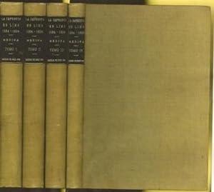 La Imprenta en Lima (1584-1824): Medina, Jose Toribio