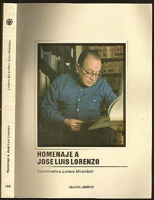 Homenaje a Jose Luis Lorenzo: Mirambell, Lorena