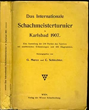 Das Internationale Schachmeisterturnier in Karlsbad 1907: Marco, Georg (1863-1923)