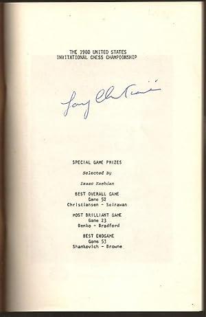 The 1980 United States Invitational Chess Championship at Thiel College, Greenville, Pennsylvania ...