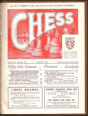 World Championship Match between Mikhail Botvinnik and David Bronstein and the Staunton Memorial ...