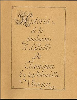 Historia de la fundacion de el Pueblo: Francisco Aguilar and